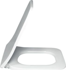 Villeroy & Boch Architectura Square Slimeline Toilet Seat & Cover Soft-Close with Quick Release 9M81S101