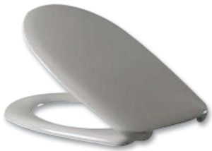 SP311WH Vigour Desire Toilet seat and cover White with fittings HVAC 16