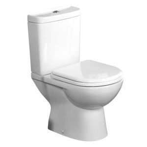 Tavistock Micra Soft Close Toilet Seat & Cover with fittings - Toilet  Seat Only TS100WSC