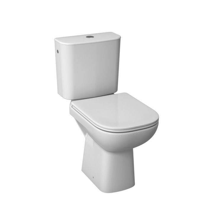 Jika DEEP by JIKA duroplastic antibacterial seat with cover TOILET