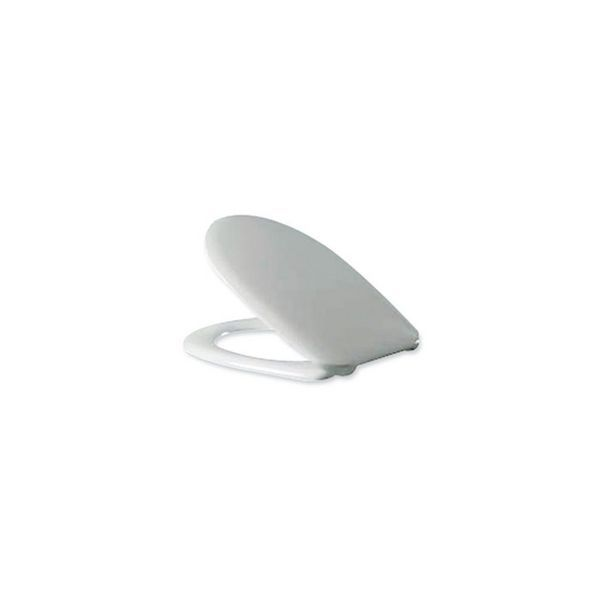 Nabis Pride Neon back to wall toilet seat and cover White