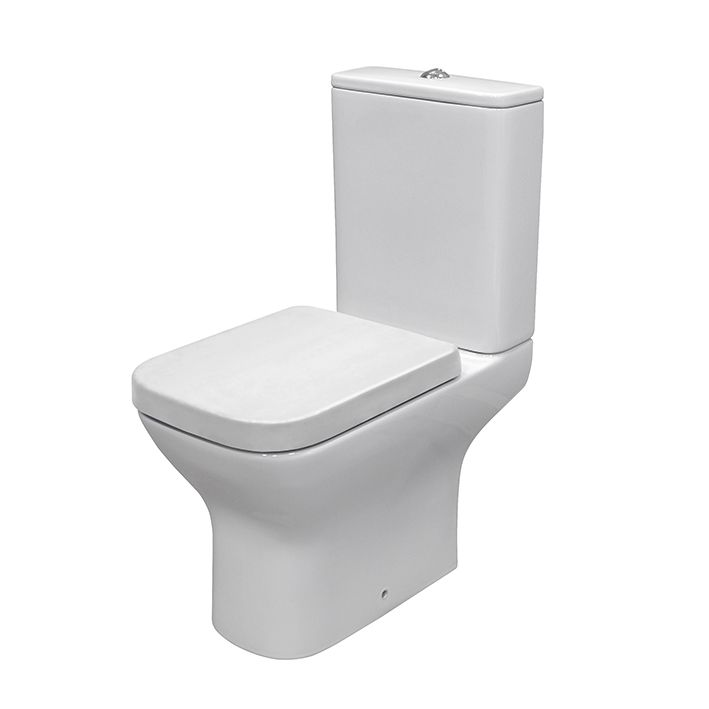 Noken Porcelanosa Urban c white 100130732 N369225471 Soft-close seat and cover