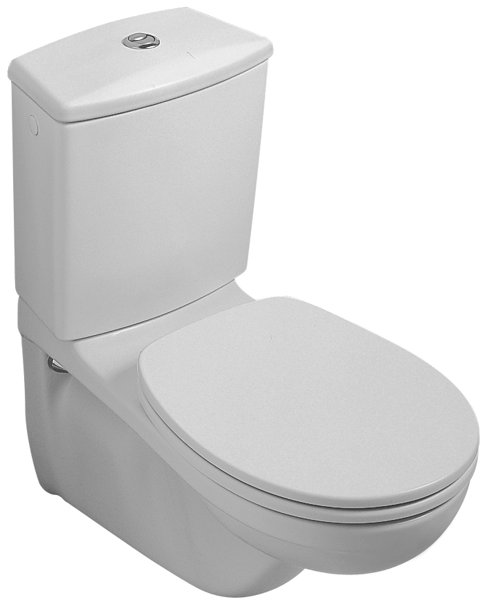 Villeroy and Boch O.novo Toilet seat and cover 882361 / 217-2