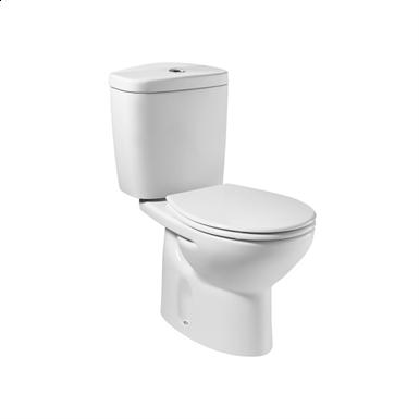 Roca Victoria - A801398004 - White Plastic Toilet Seat - Bathroom Accessories