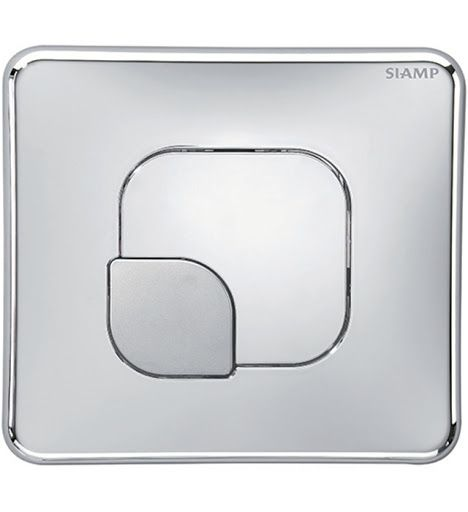 Siamp Lemon Flush Plate Chrome - 31181410 / 3247230016808