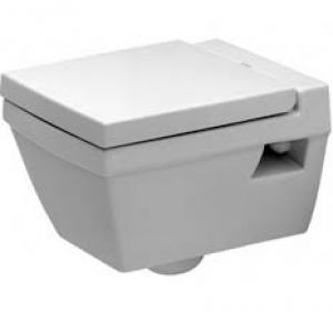 Duravit 2nd Floor Slow Close Toilet Seat and Cover with all the fittings 0068990095