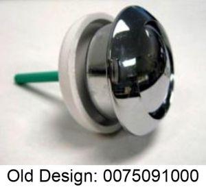Duravit Single push button chrome 0075091000 for Flush valve Geberit  0074137600