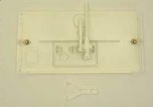 24002600 Geberit protective plate transparent for concealed cistern