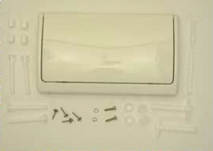 37053SHO cover pusher plate white Grohe DAL Classic for WC concealed cistern altenr. 06.11.8500