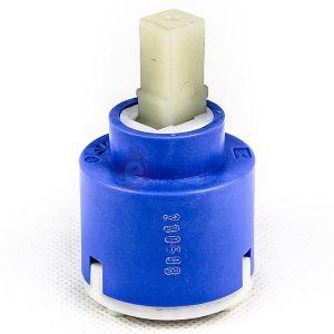 40 mm ceramic cartridge for  SLIM EVO BIRRILO, Paffoni LIGHT / Fonte