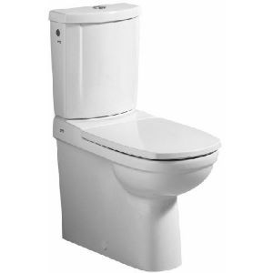 573620 Keramag toilet seat Vitelle chrome with lid hinges, white