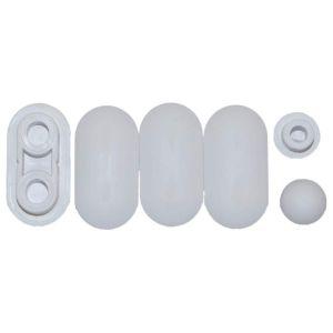 Allia Toilet Seat Pads 16704100000 Seat BuffersROYAN and PRIMA Saddles  (AB87)