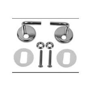 Armitage Shanks Accolade/Cameo toilet seat and cover Hinges SV52567  Ascania Chrome Seat hinges for Back To Wall Pans