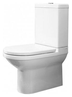 AXA Due AF1301 Soft Close Toilet Seat and Cover with fittings 1316 white