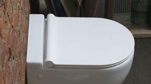 AXA ONE SLIM ORIGINAL SOFT-CLOSE  TOILET SEAT AFS1301