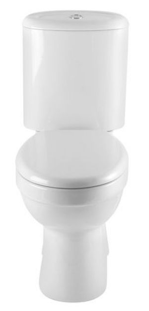 B&Q Cooke & Lewis Cordoba Toilet Soft Close Seat and Cover Only