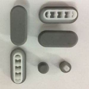 Bauhaus Touch ED6105W Toilet Seat Buffer Set - BF6105EA2