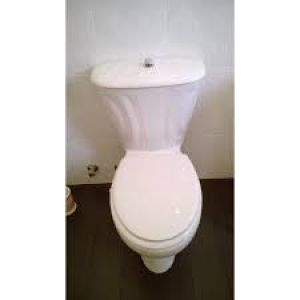 BELLAVISTA-AMADEUS TOILET SEAT AND COVER WHITE