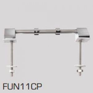 Celmac Bottom Fix Chrome Toilet Seat Hinges FUN11CP