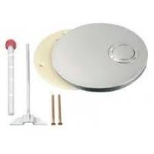 2871030 Missel Push Flush  button  Chrome 287-1030 Missell complete with multifunction button and operating rod Standard