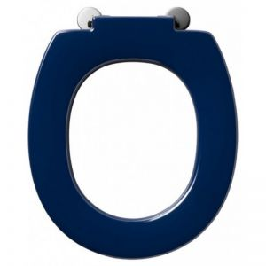 Armitage Shanks Contour 21 standard toilet seat with retaining buffers - no cover - top fixing hinges  S406636  /  50178303821
