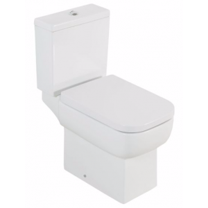 COOKE & LEWIS B&Q  FABIAN CLOSE-COUPLED TOILET WITH SOFT CLOSE SEAT