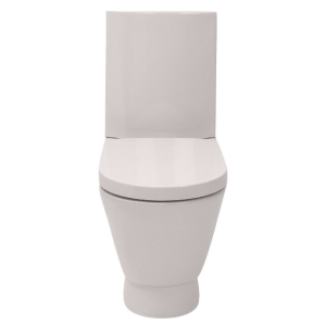 COOKE & LEWIS B&Q ROSALIND TOILET SEAT WITH SOFT CLOSING HINGES SEAT ONLY ORIGINAL SEAT 04000662