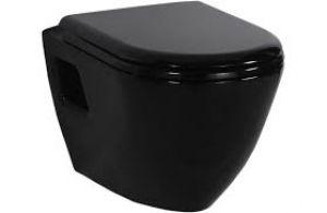 Creavit KC3131.S0 Amasra Duroplast Soft Closing Seat & Cover Black