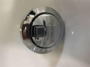 Duravit 0074601000 Dual flush push button Chrome 0074601000
