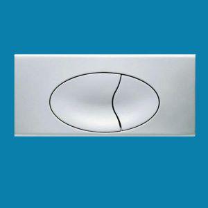 Ideal Standard E4434AA Chrome 370 mm x 170 mm Dual Flush Plate for