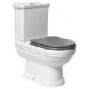 GALA NOBLE original wooden Toilet Seat fixed.