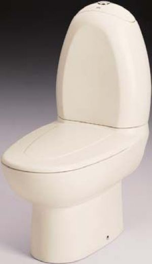 Gala Aurea Toilet Seat and Cover with Fittings 5122001 White