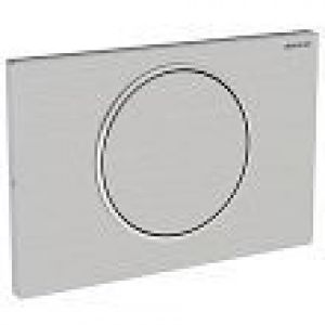 Geberit actuator plate Sigma10, for flush-stop flushing, screw 115.787.SN.5 stainless steel brushed / polished / brushed  version: screw