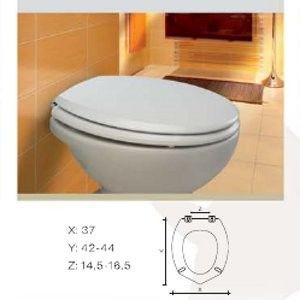 GSI Clizia Close-Coupled Toilet - 7817 Seat and Cover Soft Close