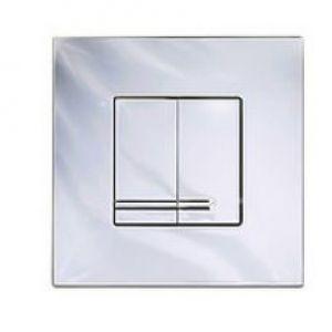 Gustavbergs Front operated 3/6l dual flush/push-button White plastic square GB1921102052
