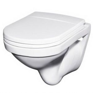 Gustavsberg Logic WC Toilet Seat and Cover  Standard Close 9M016101