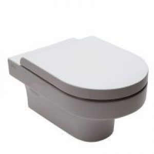 Hatria Daytime Toilet Seat and cover with fittings standard Close