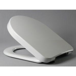 Haro toilet seat Calla Premium 520746 white, stainless steel hinges, softclose Quick Release