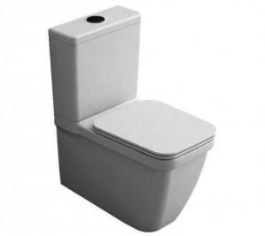 Hatria Erika Pro Q white soft-close toilet seat Y1FUT01