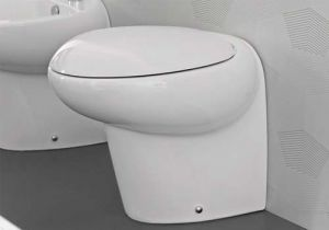 Hidra Ceramica TAO Close-Coupled Toilet - TA12 Soft Closing with all the fittings