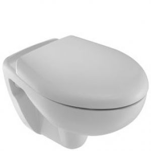 JACOB DELAFON E270017-00 HINGED DOWN HUN SOFT CLOSE TOILET SEAT ONLY