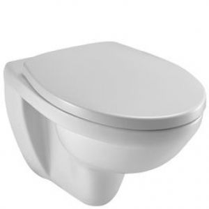 JACOB DELAFON E70007-00 OVAL SOFT CLOSE TOILET SEAT AND COVER  ONLY ORIGINAL SEAT
