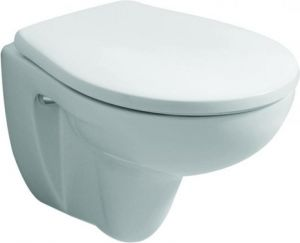 Keramag Renova Nr. 1 Comprimo / Twyford Galerie Toilet Seat and Cover with Top Fix Stainless Steel‎ GN7865WH / 571044 (from 06/2002) Toilet Seat 571044000 / 4022009213645