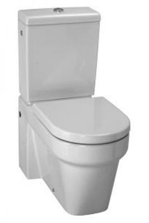 Laufen Form Close Coupled Toilet Soft Close Seat and Cover 823676