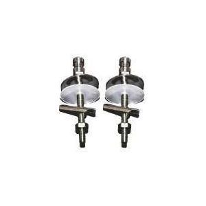 Laufen / Jika Pure H8914220000631 / 8.9142.2.000.063.1 EASY OF fixing set for hinges slowclose  stainless steel for duroplastic seat 893421,893422