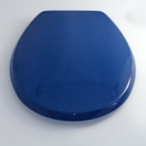 Lecico Atlas Toilet seat and cover STWHLRING - with lid Blue ring seat