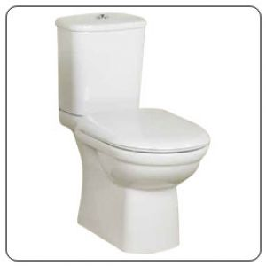 Lecico Olympiad Wc Seat White Stwhmm  Standard Close