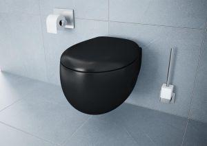 Memoria WC Black 106-083-009 Soft Close Toilet Seat black (Toilet seat only)