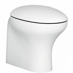 Pozzi Ginori 51761000 Egg 51761 Thermoset Seat Slowed Down, Whites