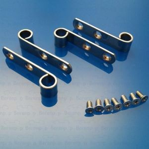 Pressalit A9108 Set of straps and screws, stainless steel